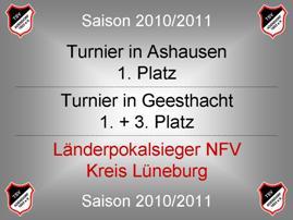 Erfolge Saison 10-11 -01